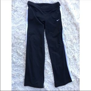 Nike large track pants striped workout gym running